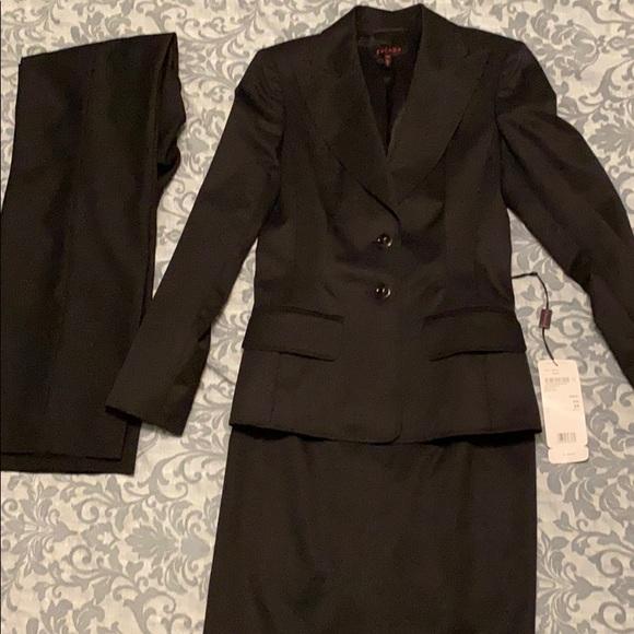 Black Escada suit